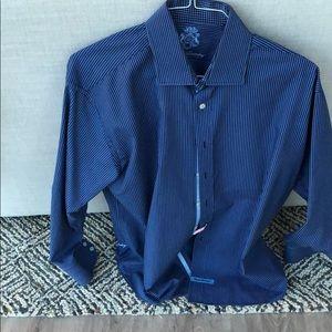 English Laundry Striped Dress Shirt